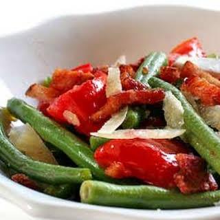 Warm Green Bean and Pancetta Salad.