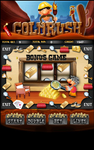 Gold Rush Slot Machine HD Screen Capture 3