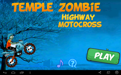 Temple Zombie Highway Motocros