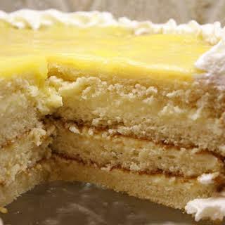 Lemon Truffle Cake.