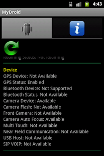 MyDroid - My Phone Information- screenshot thumbnail