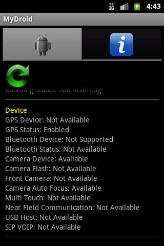 MyDroid - My Phone Information- screenshot