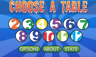 Screenshot of Brainy Monsters Times Tables
