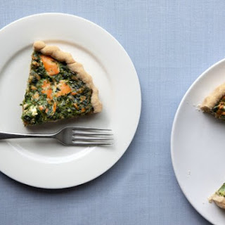 Salmon And Spinach Pie.
