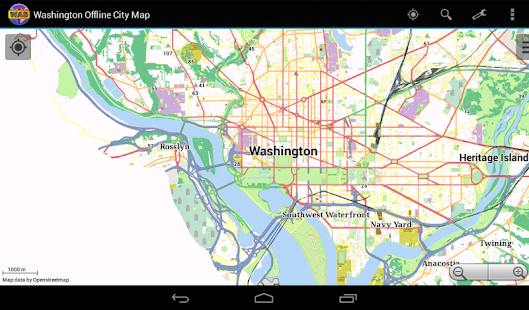Washington Offline City Map- screenshot thumbnail
