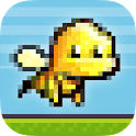Flappy Bee - Endless Bird Run icon