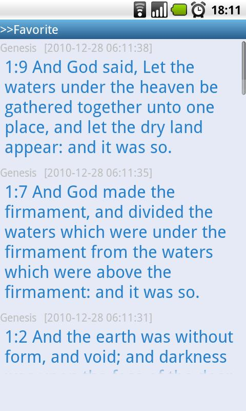 Holy Bible(Multilanguage) - screenshot