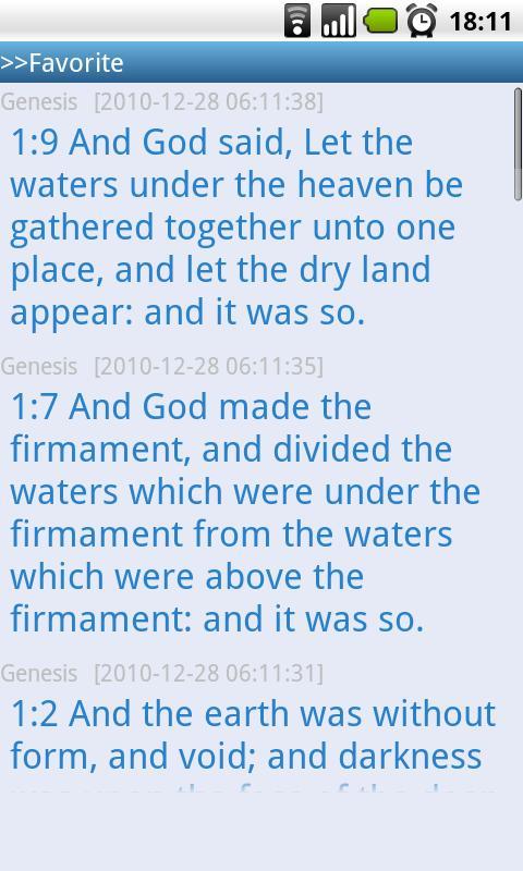 Holy Bible(Multilanguage) - screenshot