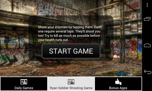 Ryan Soldier Shooting Game