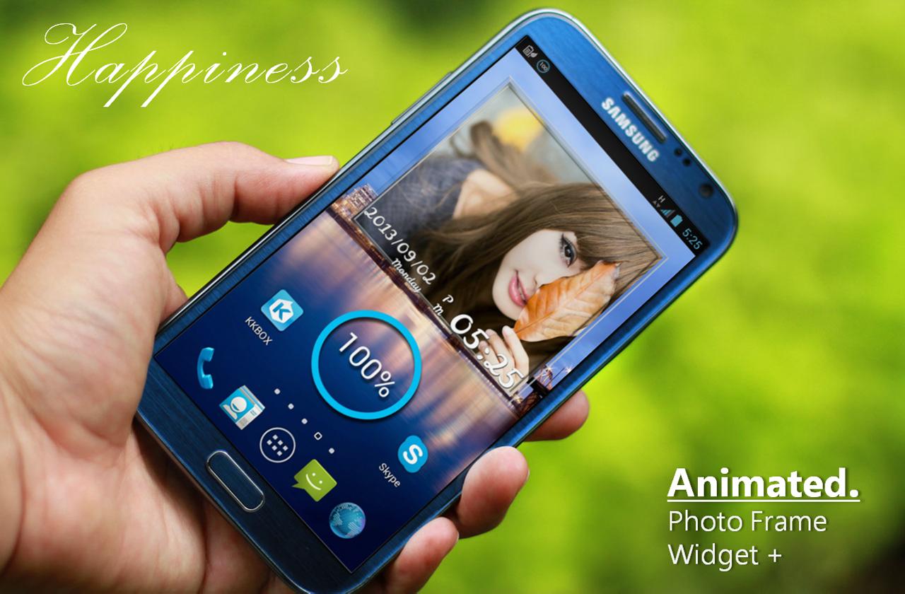 Animated Photo Frame Widget + - screenshot