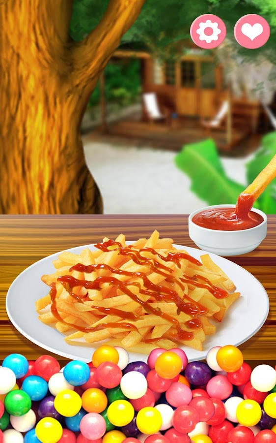French Fries Maker- screenshot