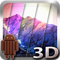 3D Kitkat 4.4 Mountain lwp icon