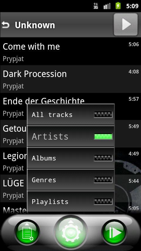 Lithium Music Player Lite - screenshot