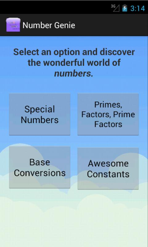 Number Genie Version 2 - screenshot