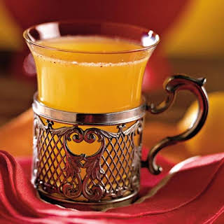 Apricot-Apple Cider Punch.