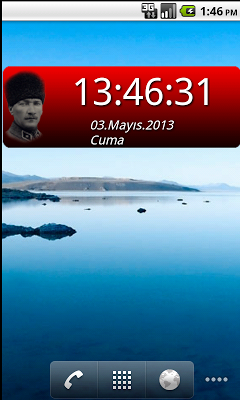 Atatürk Digital Saat - screenshot