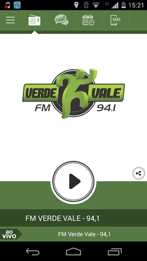 FM Verde Vale - 94,1- screenshot