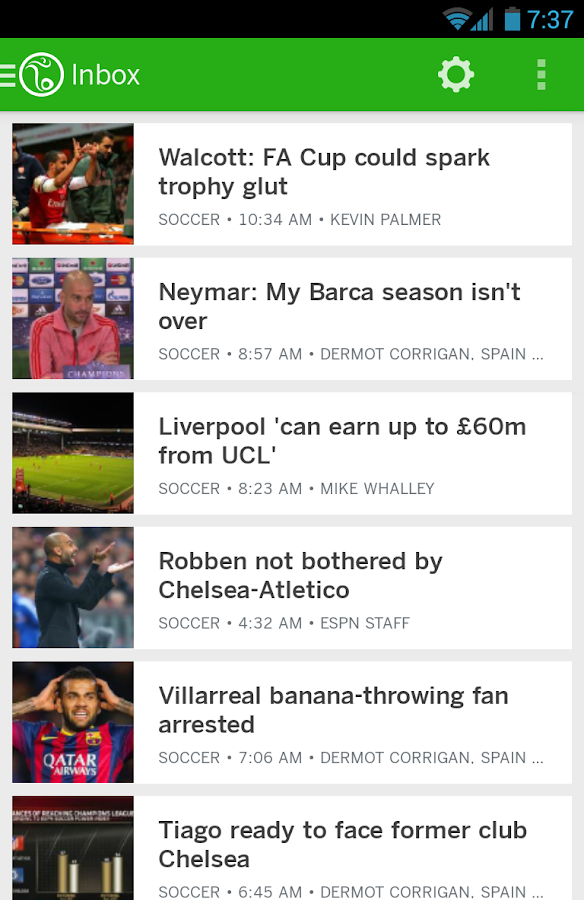 ESPN FC Soccer - screenshot
