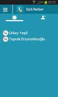 Screenshot of Gizli Rehber