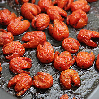 Honey-roasted Grape Or Cherry Tomatoes.