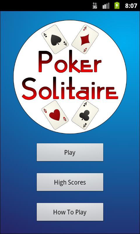 Poker Solitaire- screenshot