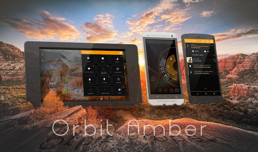 Orbit Amber Theme - CM11 PA