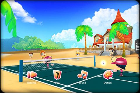 3D Badminton II- screenshot