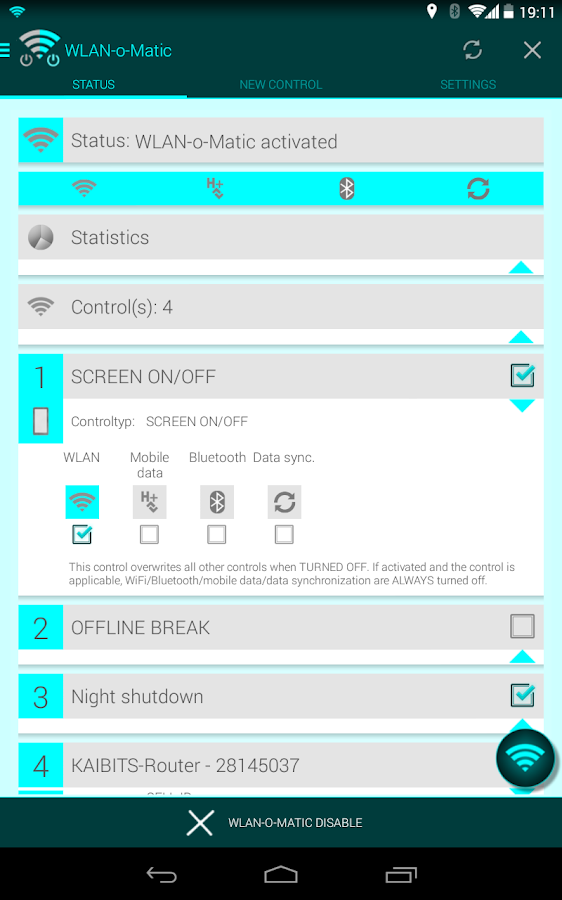 WiFi-o-Matic- screenshot