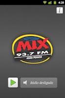 Screenshot of Rádio MIX FM