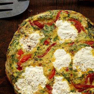 Ricotta and Roasted Pepper Frittata (Frittata con Ricotta e Peperoni)