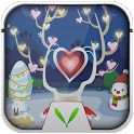 Love in Christmas Locker Theme icon