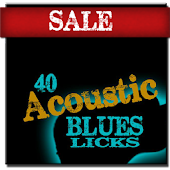 40 Blues Licks With Tracks HD