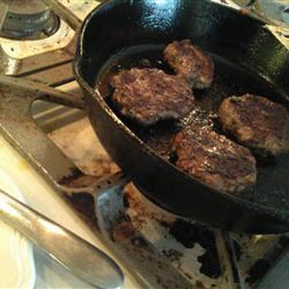 Homemade Beef Breakfast Sausage Patties
