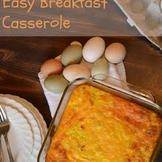 Breakfast Egg Casserole No Meat Recipes.