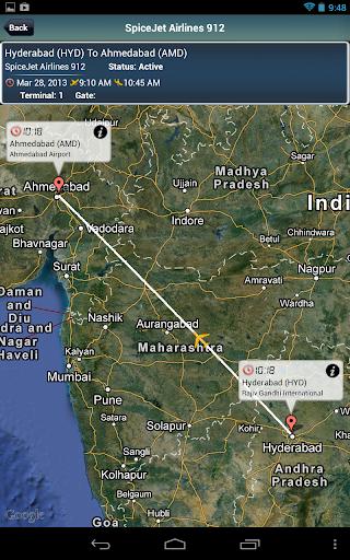 Hyderabad Airport +FlightTrack