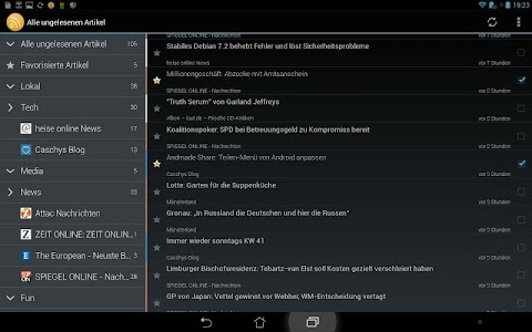 ownCloud News Reader v0.6.8