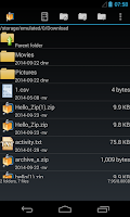 Screenshot of AndroZip™ FREE File Manager