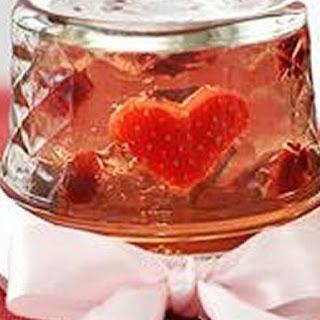 Valentine Snow Globe Jelly Shots