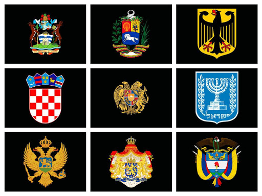 Coat Arms Countries World