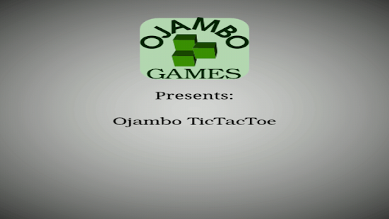Ojambo Tic Tac Toe Game- screenshot thumbnail