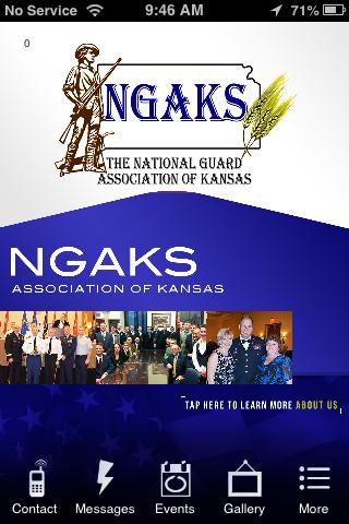 National Guard Association KS