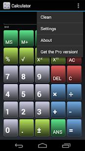 Simple Calculator - screenshot thumbnail