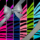 WALLPAPER SET - Zebra Colorful