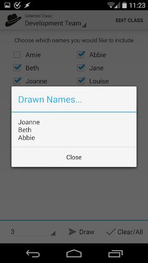 【免費工具App】Names in a Hat-APP點子