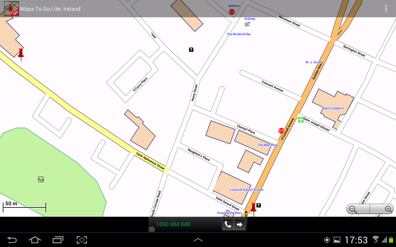 maps to go  android apps on google play - maps to go screenshot