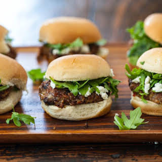 Indian Spiced Black Bean and Tofu Burgers.