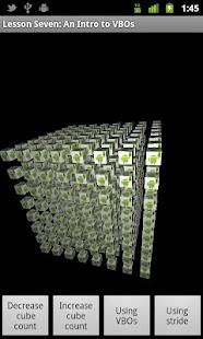 OpenGL ES Examples- screenshot thumbnail