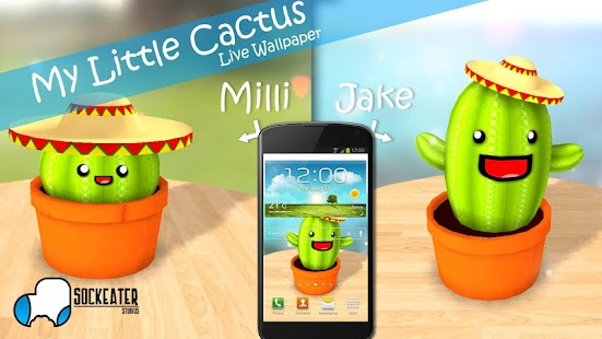 My Little Cactus LiveWallpaper - screenshot thumbnail
