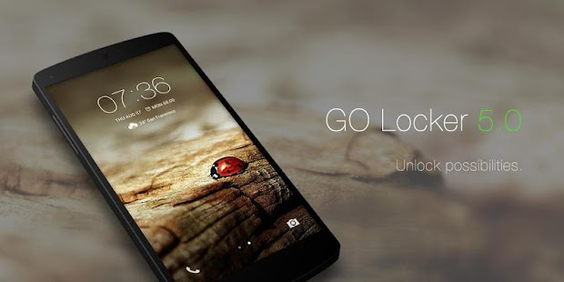 GO Locker - theme & wallpaper- screenshot thumbnail