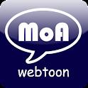 MoA 웹툰 logo